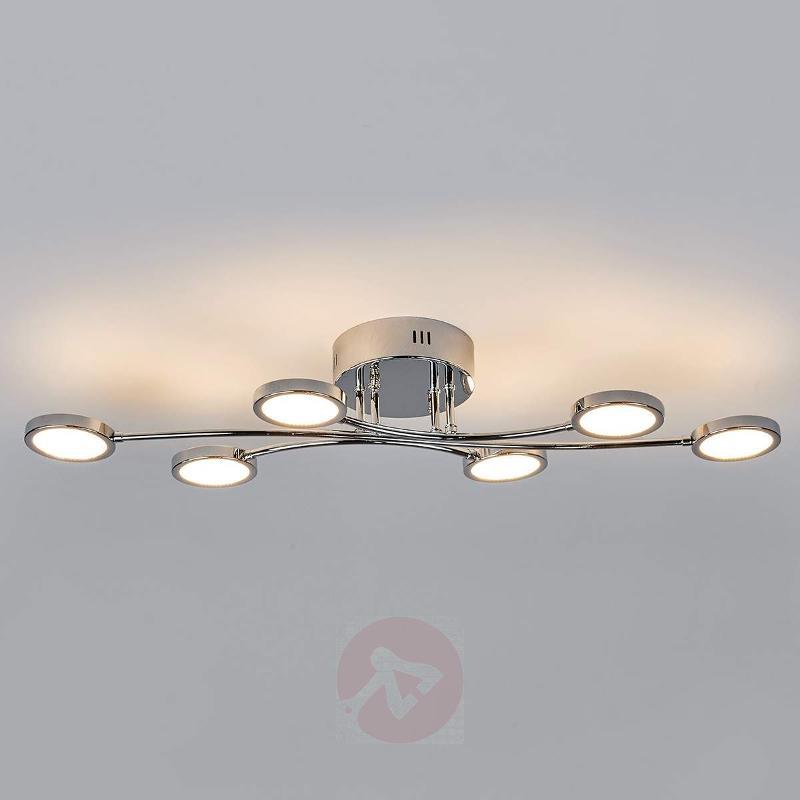 Betika - LED ceiling light, 6-bulb - Ceiling Lights