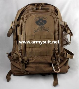 3D tactical backpack coyote - null