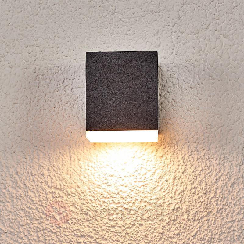 Applique murale LED Sarah diff. plastique, ext. - Appliques d'extérieur LED