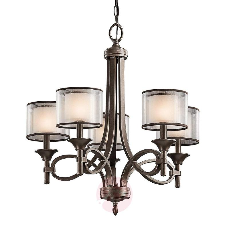 Lacey 5-bulb chandelier - Chandeliers