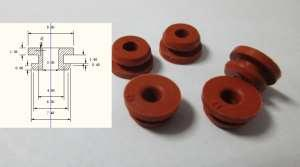 rubber grommets - electrical Oil proof rubber grommets  for wires  small silicone rubber grommets