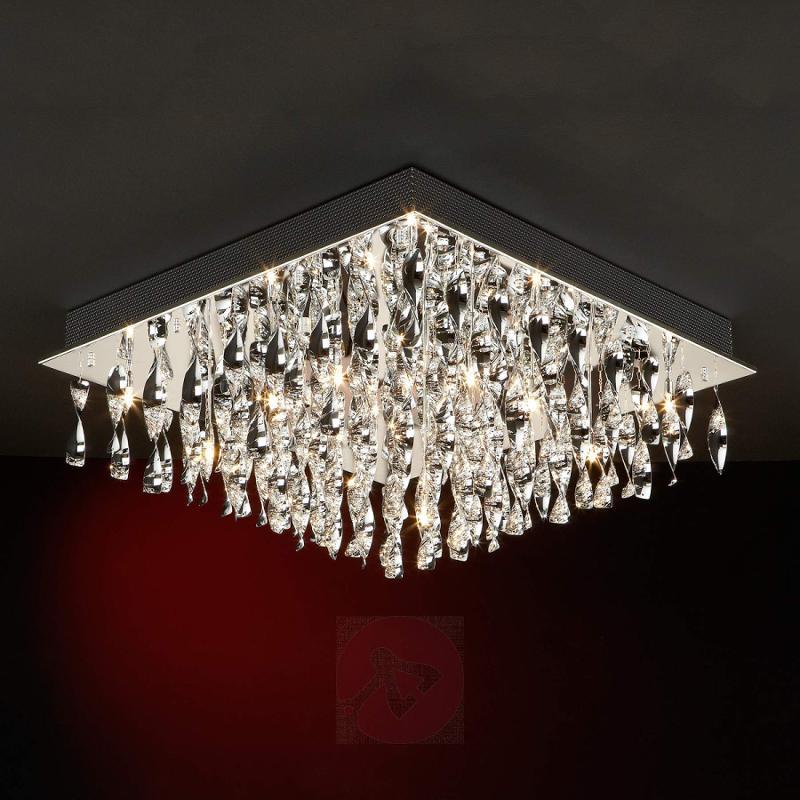Artfully designed ceiling light Espiral - design-hotel-lighting