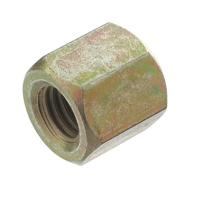 HEX DOMED CAP NUT IN YELLOW ZINC PLATED IRON - Professional screws