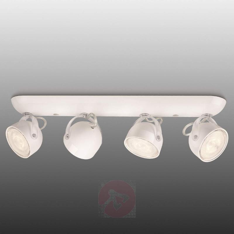 Dyna LED Spotlight Modern White Four Bulbs - Ceiling Lights