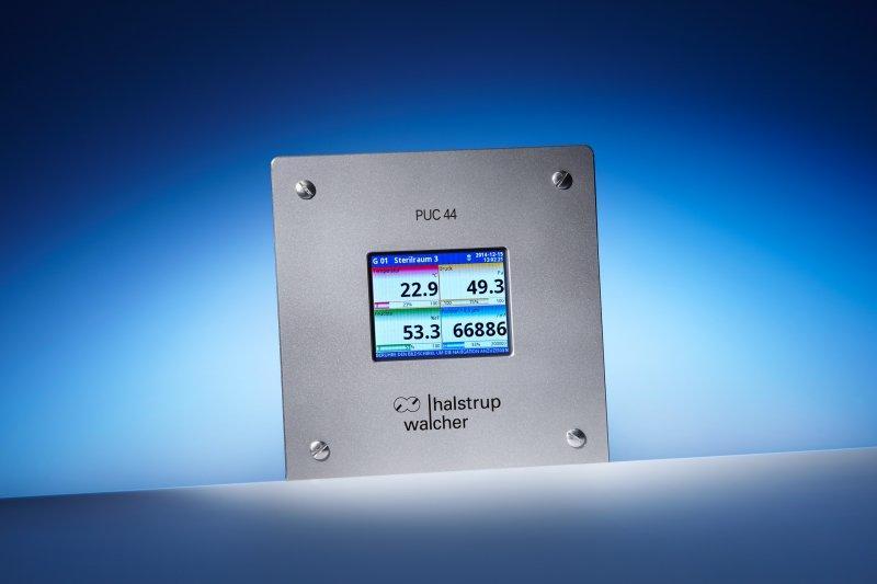 Anzeigepanel PUC 44 - Mehrkanal-Prozessanzeige mit Touch-Bildschirm