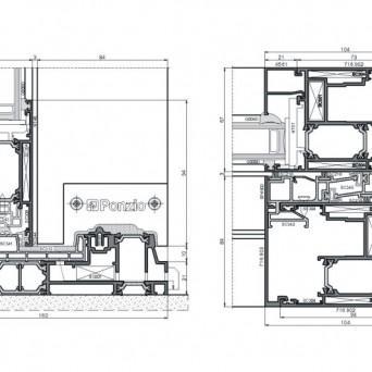 Sliding 1600tt - Aluminiumfenster