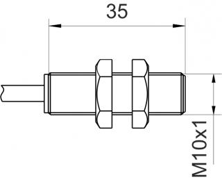 inductive sensor Pick-Up - KJ4-M10MB35