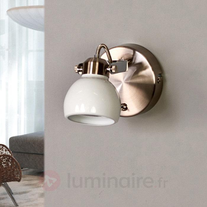 Spot LED attrayant Nima - Spots et projecteurs LED