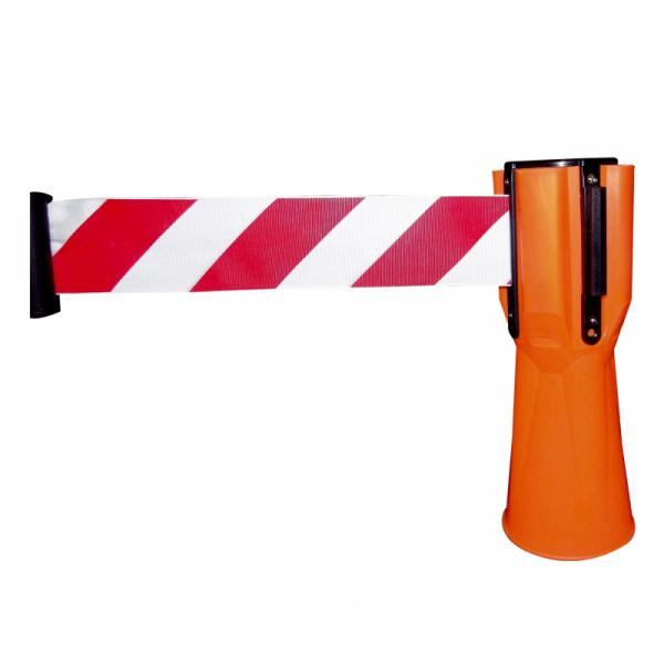 Traffic cones - traffic cone red / white luminous in daylight, different sizes