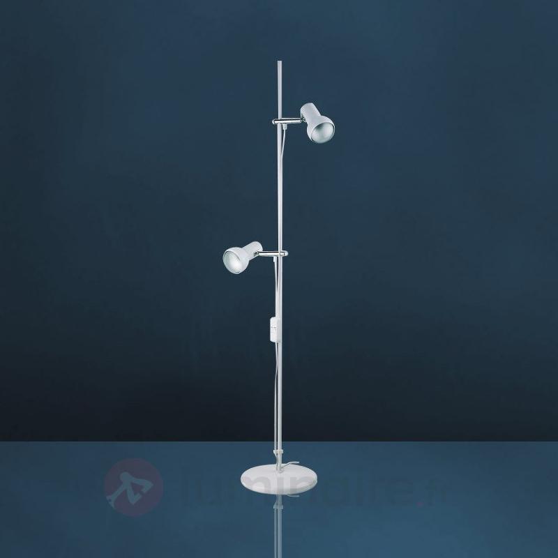 Lampadaire EIFEL à 2 lampes blanc - Tous les lampadaires