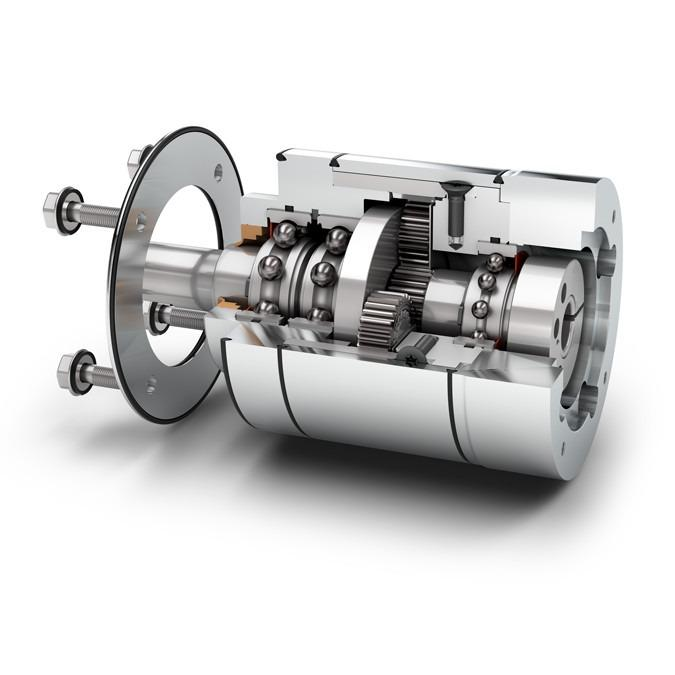 Reductore planetario en Diseño Higiénico HLAE - Reductor Economy - IP69K - 3-A® RPSCQC Certificado - Dentado recto - NEUGART