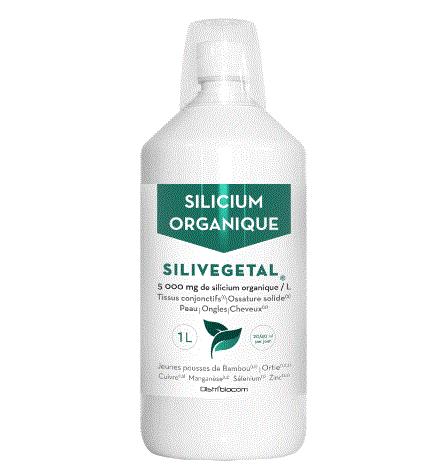 Silivégétal - silicium organique ortie bambou (5000 mg/L Si)