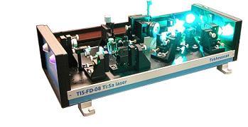 TIS-FD-08 - Frequenzverdoppelter durchstimmbarer Ti:Saphir Laser mit schmaler Linie