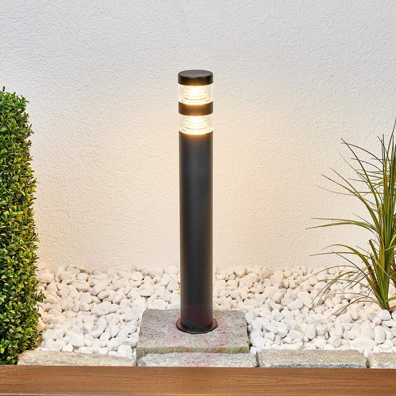 Lanea stainless steel path light with LEDs - outdoor-led-lights