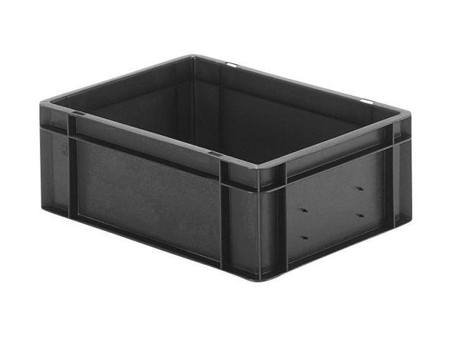 Conductive stacking box: Band 145 1 cond - Conductive stacking box: Band 145 1 cond, 400 x 300 x 145 mm