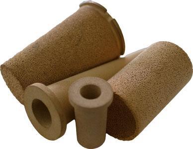 Sinterfilter AMPOR® - Sinterfilter aus rostfreiem Sinterstahl oder Sinterbronze