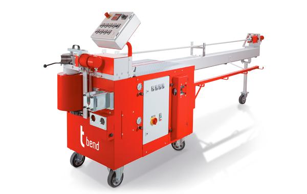 Compact Mandrel Bending Machines - Our compact mandrel bending machines are operated fully with hydraulics.