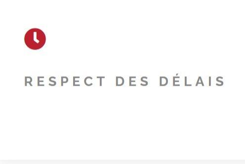Respect Des Délais -