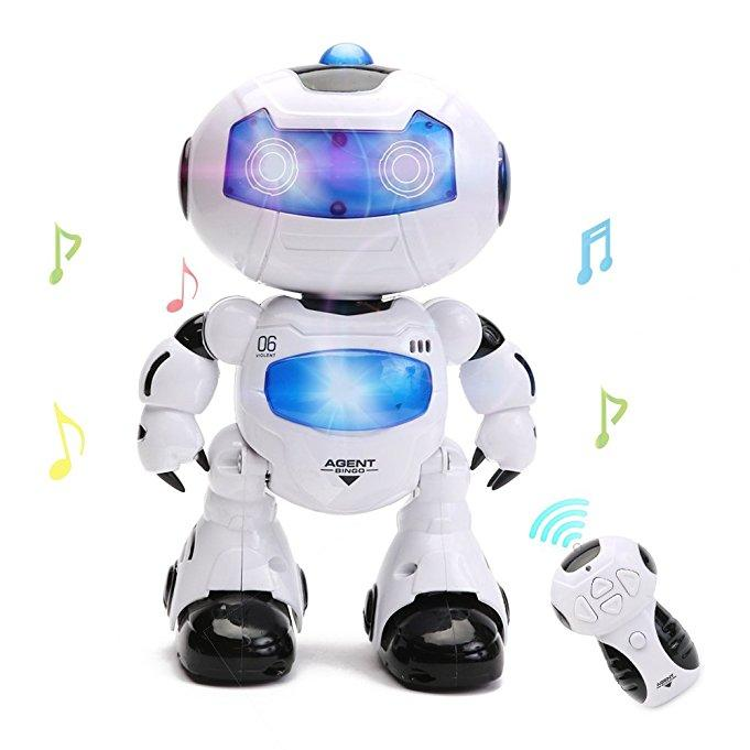 Electronic RC Robot Learning Toys by Hanmun