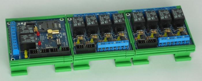 Telecontrollo Avvisatore 10 I/O GSM RC24 -