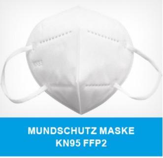 FFP2 Masken - KN95 Filtrierende Halbmaske zum Schutz gegen Partikel