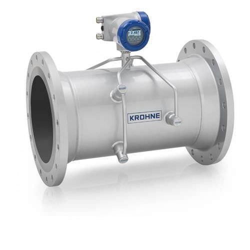 OPTISONIC 3400 - Liquid flow meter / ultrasonic / for high temperatures / in-line