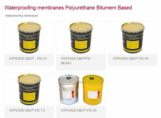 Polyurethane liquid membrane for waterproofing & protection - Based on pure elastomeric hydrophobic polyurethane resin