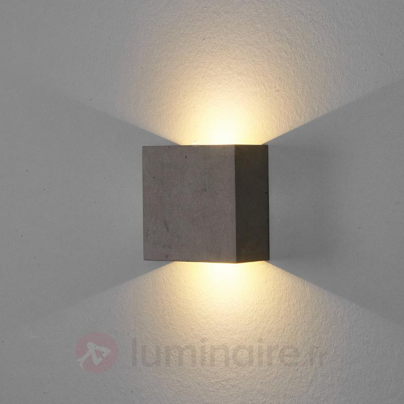 Yva - applique LED en béton - Toutes les appliques