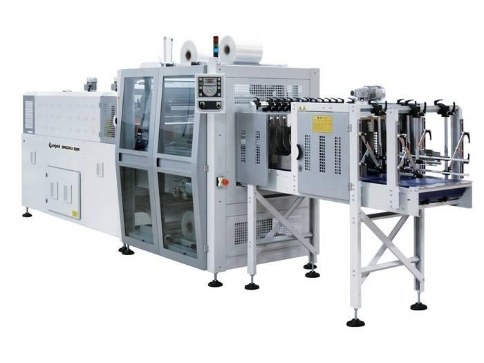Smipack automatische in-line bundelmachine met groepering, Type BP 802AL 600R-P - Bundelmachines