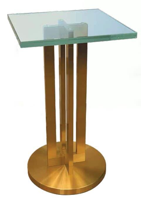 bout de canapé -  en verre Modèle Bout de Canapé 992 bis