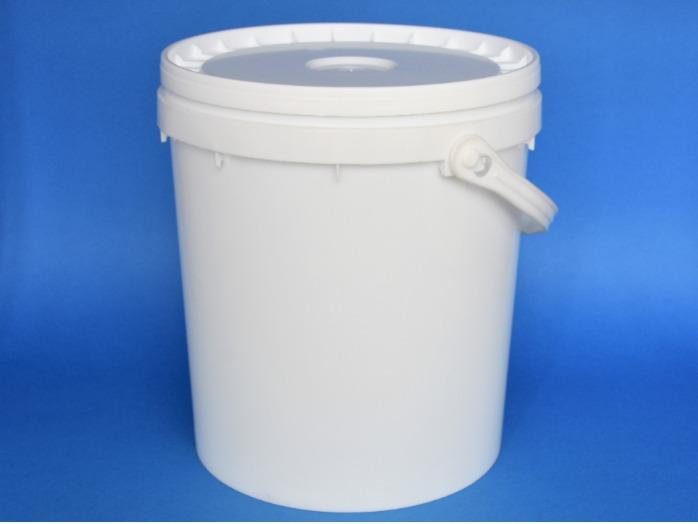 Cubos plásticos - inviolables (de 0,5L a 40L)