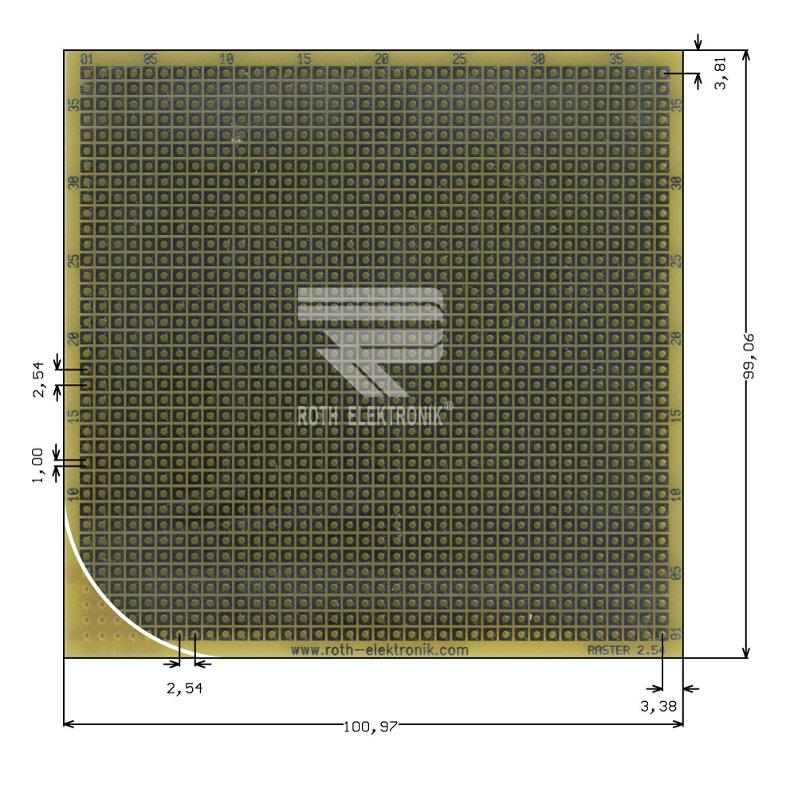 RE017-LF - Prototyping Boards Dual Inline