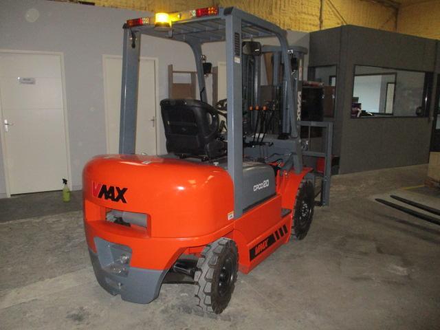 Chariot élévateur Vmax diesel 2T - Machines neuves - manutention levage