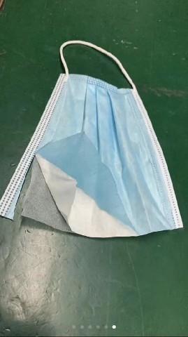Spun bond Surgical Mask (3-ply) -