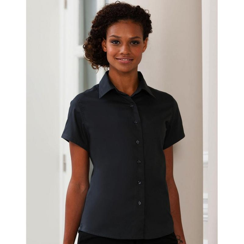 Chemise manches courtes Classic Twill - Femme