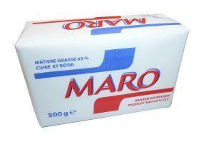 Marque Maro - Format disponible : 500g - Matière grasse de cuisson 100% végétale