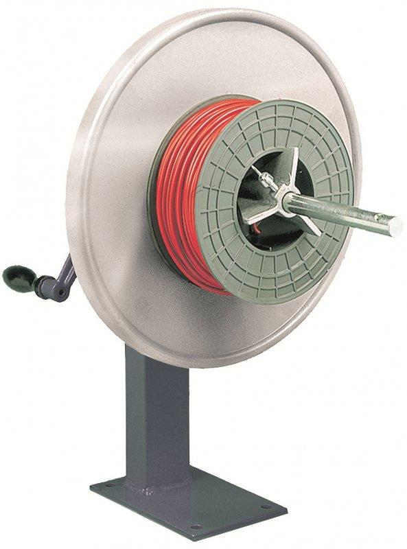 TISCHROL 450 complete device for manual spool winding - Manual spool winder
