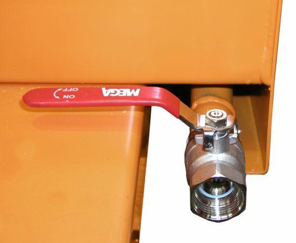 Spänebehälter Typ SGU, Anbaugerät für Gabelstapler - Behälter zum Sammeln und Trennen der Flüssigkeiten von Feststoffen