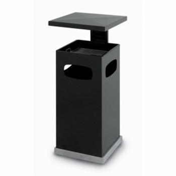 cendrier poubelle avec toit KO-mini - exemples de poubelles et cendriers