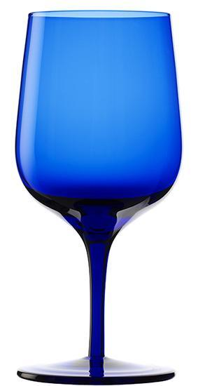 Drinking Glass Ranges - GRANDEZZA Water, blue