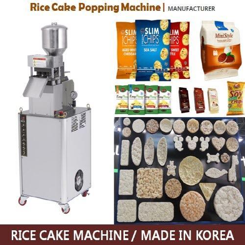 Leipomokonemyynnin (riisi kakku kone) - Valmistaja Koreasta