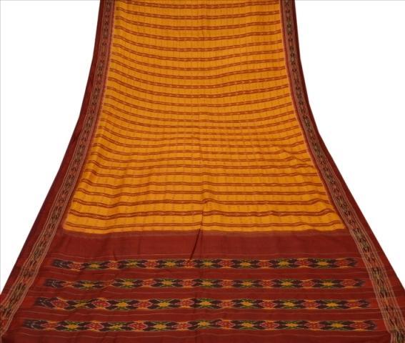 Patola Sari Fabric Pure