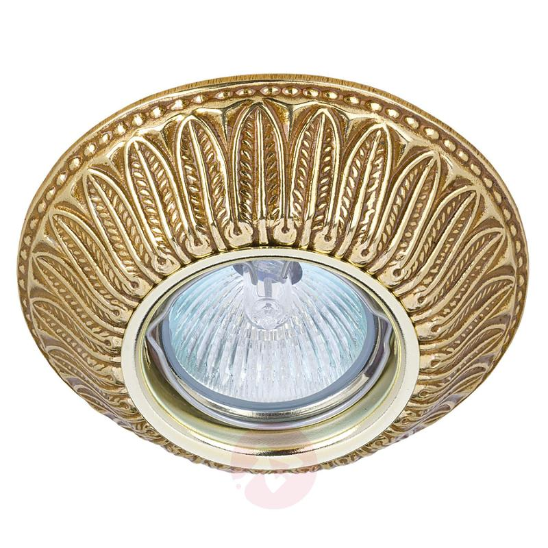 LED recessed light Liberty - finish English patina - design-hotel-lighting