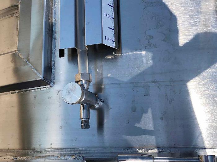 Serbatoio in acciaio inox 304 - 105 HL - SPAIPSER10500