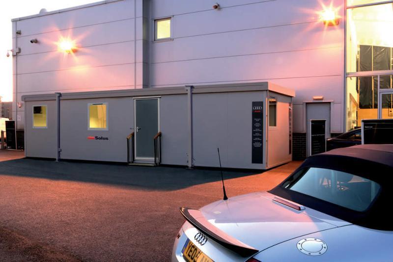 Bureau container  - Portakabin Solus