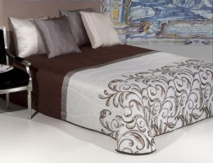 Jacquard bedspread - ASTRID