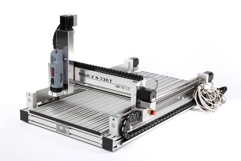 2D und 3D CNC Fräsmaschine - CNC Fräse High-Z S-720/T Kugelgewindetrieb