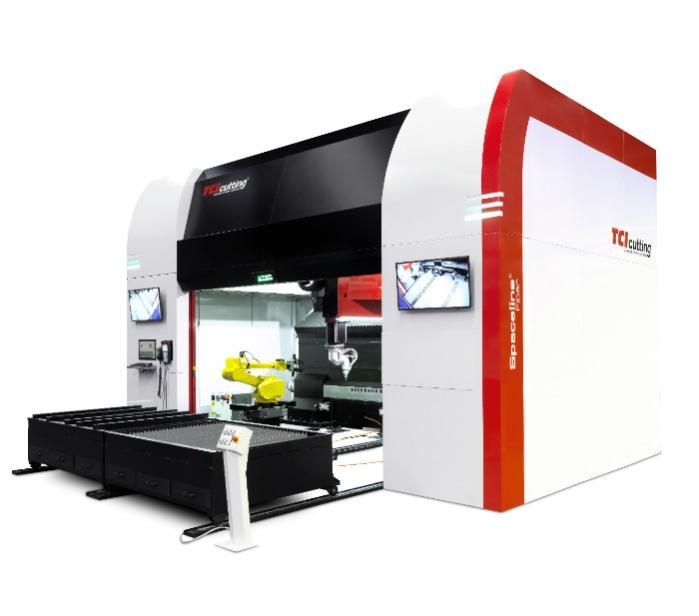 Spaceline Fiber - Máquina de corte láser 3D - TCI Cutting Spaceline Fiber