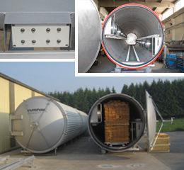 Vacuum dryer - KCT 900 - 3000