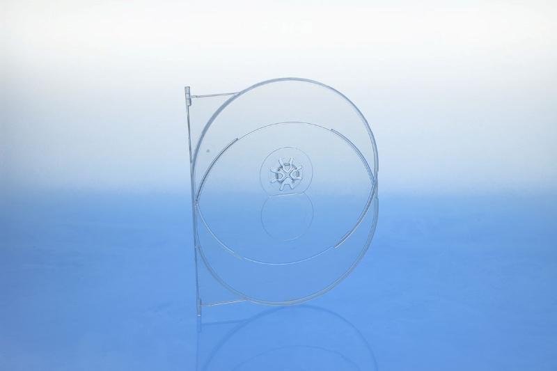 AMARAY DVD Tray für 1 Disc - transparent - BluRay & UHD